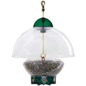 House / Hopper Bird Feeders by Droll Yankees