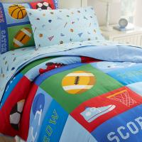 Olive Kids Game On Twin Comforter