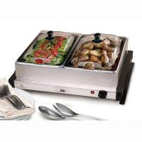 Elite 5Qt Dual Stainless Steel Buffet Server