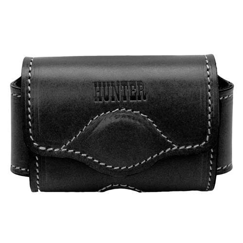 Hunter Adjustable Cell Phone Holster - Leather, Black