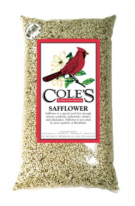 Cole's Wild Bird Products Safflower 20 lbs.