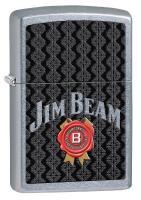 Jim Beam Street Chrome Zippo Lighter