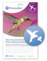 Bird's Choice Window Alert Hummingbird Decals