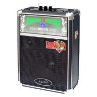 Supersonic Professional Speaker w/USB Micro SD AUX and FM Radio