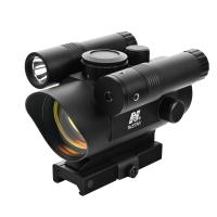 Vism Red Dot Sight/Grn Lasr-Led FL/QR Mnt