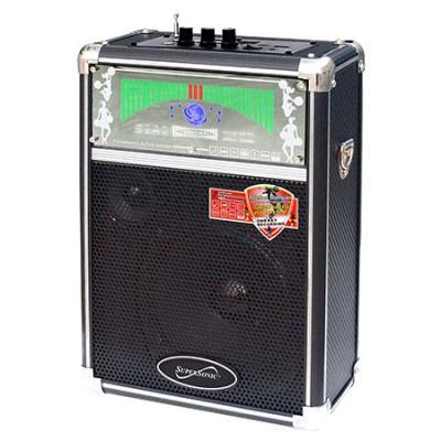 Supersonic Professional Speaker w/USB Micro SD AUX and FM Radio