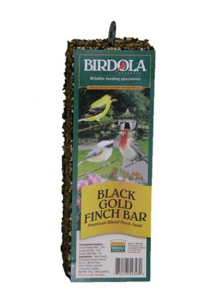 Birdola Products Black Gold Finch Bar