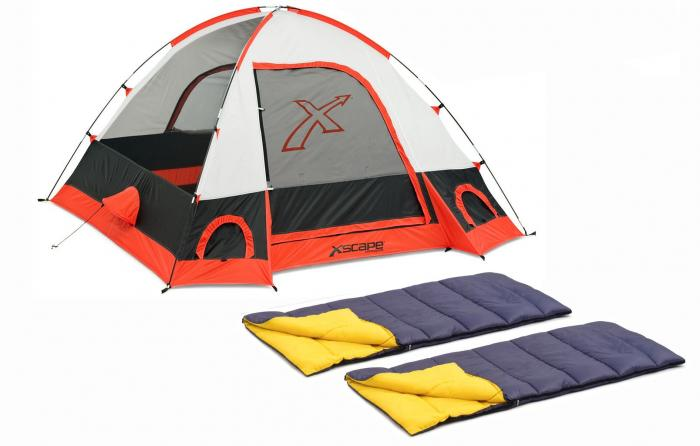 Xscape Designs Torino 3 & Sleeping Bag Combo