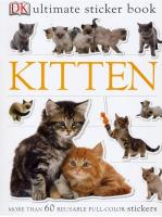 Penguin Group Kitten Sticker Book
