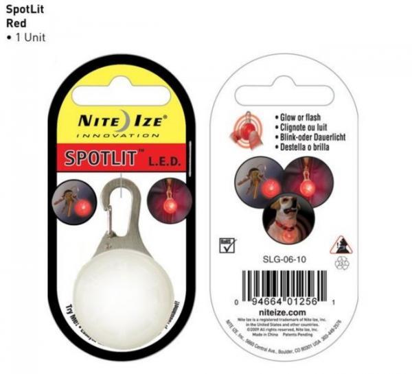Nite-ize SpotLit Eco Packaging, Red