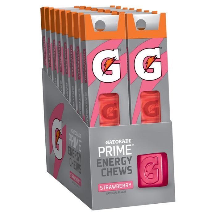 Gatorade Energy Chew Strwbry