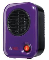 Lasko My Heat Personal Heater - Save-Smart 200 Watts of Warmth - PURPLE