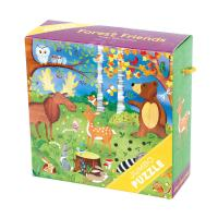 Chronicle Books Forest Friends Jumbo Puzzle 25 pcs
