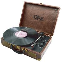QFX Portable USB Enabled Turntable w/ Bluetooth
