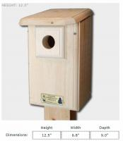 Coveside Western/Mountain Bluebird House