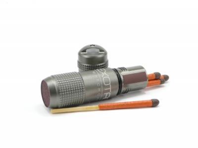 Exotac Matchcap Capsule, Gunmetal