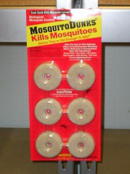 Mosquito Dunks - Package of 6