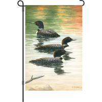 Premier Designs Late Summer Loon Trio Garden Flag