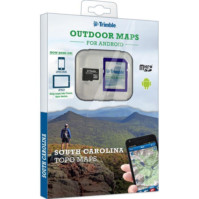 Trimble South Carolina Topo Maps