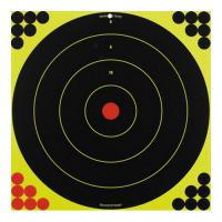 "Birchwood Casey ShootNC 17.25"" Bull'sEye 100 Sheet Pack"