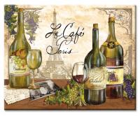 Counter Art Reserve Vintage Glass Cutting Board, 12 x 15