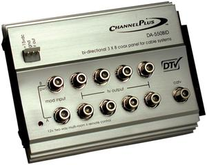 Channel Plus DA-550BID Video Distribution Panel for CATV/Satellite