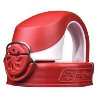 Nalgene Otf Lid - Fire Red/white (Bulk)