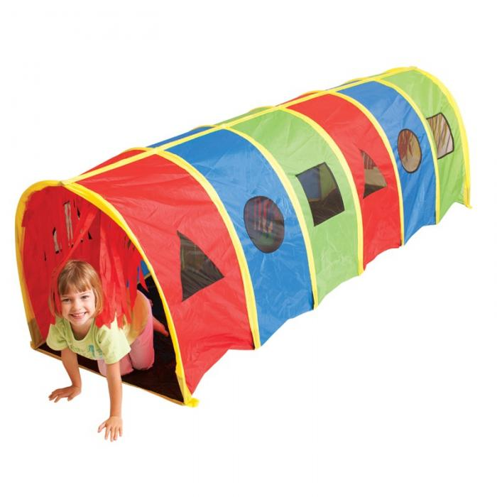 Pacific Play Tents Tickle Me 9 Foot X 19 Inch Tunnel - Geo