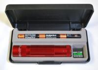 MagLite XL100 LED MagLite Flashlight - Red