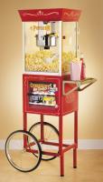 "Nostalgia Electrics CCP-610 Vintage Collection 59"" Popcorn & Concession Cart"