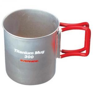 Titanium Mug 300 with Folding Handle