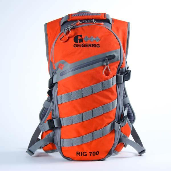 Geigerrig Rig 700 Hydration System, 70 oz., Orange/Gunmetal
