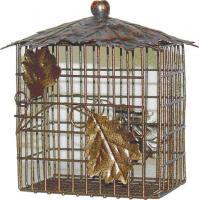 Heath Decorative Leaf Double Suet Bird Feeder