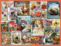 White Mountain Puzzles Flower Seeds 550 piece Puzzle