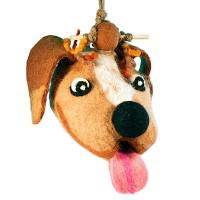 DZI Handmade Designs Puppy Dog Birdhouse