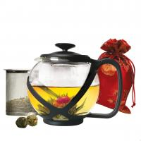 Primula Ptw2340Dst Glass Teapot With Stainless Steel Infuser