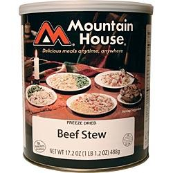 Mountain House Hearty Beef Stew - 10 1 Cup Servings