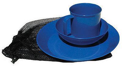 Chinook Acadia Tableware Set, Blue