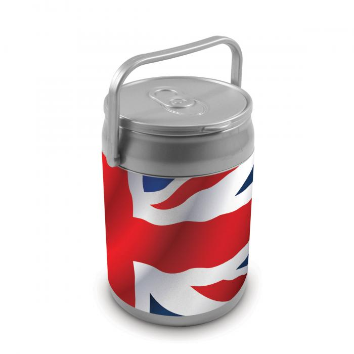 Picnic Time 9 Quart Capacity Can Cooler - Union Jack Can
