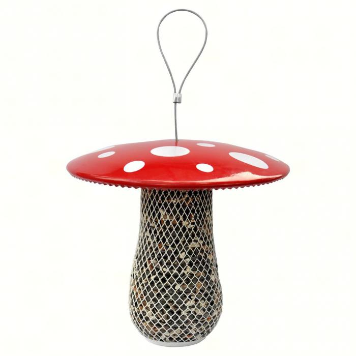 No/No Feeder Mushroom Mesh Bird Feeder