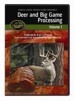 Outdoor Edge Deer & Big Game Processing DVD