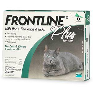 Frontline Plus For All Cats And Kittens 6 Month Supply