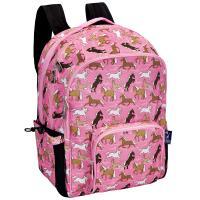 Horses in Pink Macropak Backpack