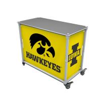 Rainmaker Hawkeyes Tailgate Station-Yellow