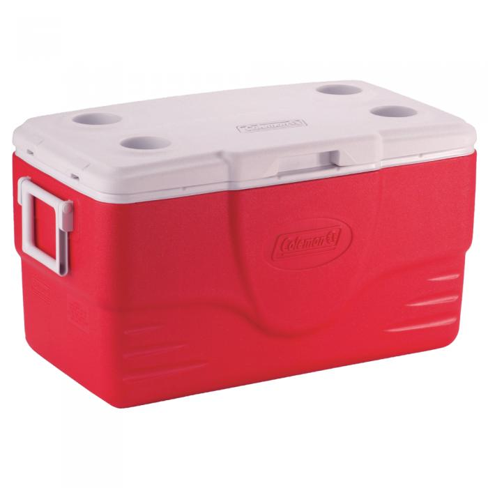 Coleman 50 Qt. Cooler - Red