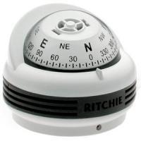 Ritchie TR-33W Trek Compass - Bracket Mount - White