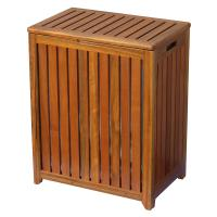 Oceanstar Spa-Style Wooden Laundry Hamper