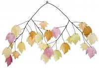 Woodstock Chimes Autumn Leaves Capiz Chime