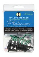 Haley's Corker Platinum Combo 1 Black Corker plus 1 Geen Screwcap