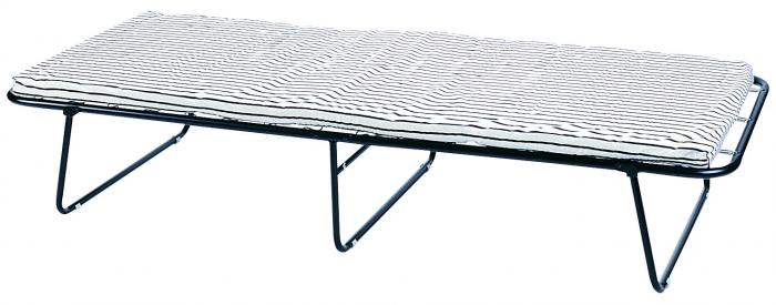 "Stansport Conifer Steel Cot with Mattress - 75"" X 30"" X 14"""